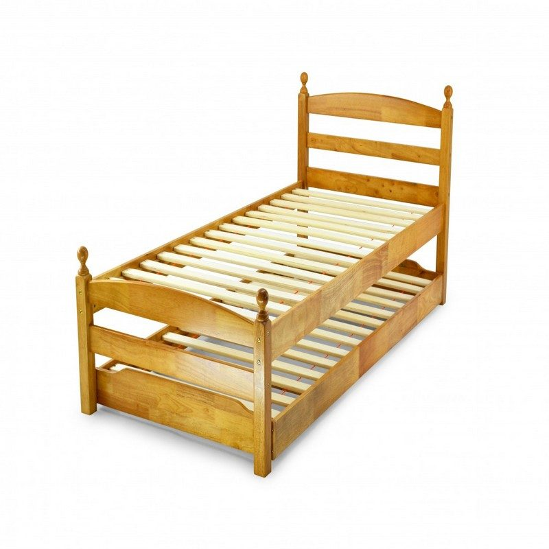 Palermo Maple Pull Out Guest Bed | Kids Beds
