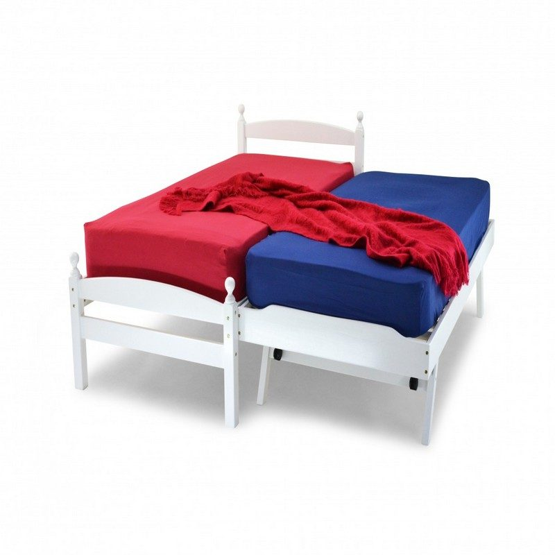 White Palermo Day Bed From Metal Beds Ltd | Guest Beds