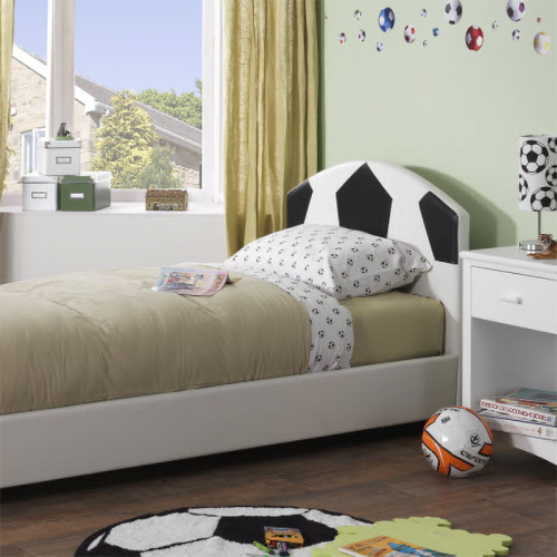 Pallone Faux Leather Bed Frame from Serene
