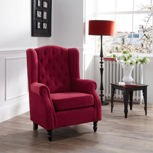 Perth Red Chair | Occasional Chairs | Armchairs