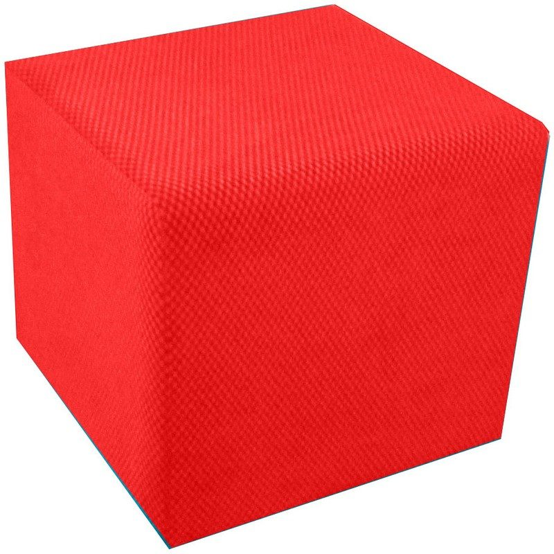 Red Cube Seat from Bishops Beds