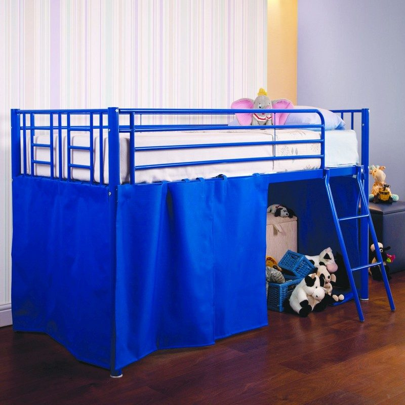 Blue Razzle Midi Bunk Bed from Sweet Dreams | Bunk Beds | Kids Beds
