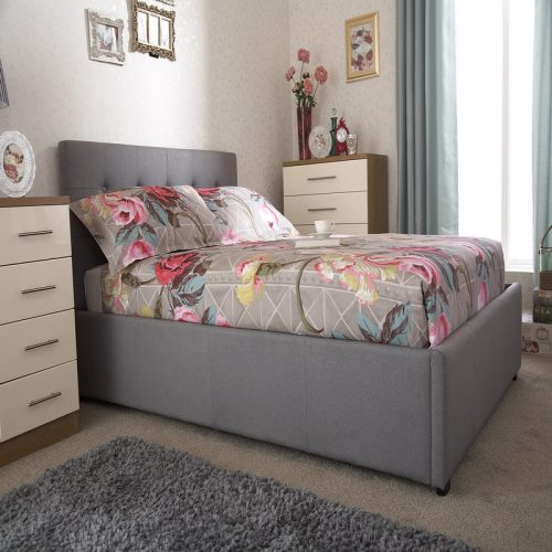 Regal Ottoman Bed Grey | Storage Beds | Beds with Storage