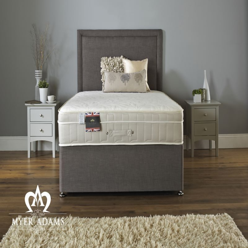 Myer Adams Royal Comfort Backcare Memory 1500 Divan Bed | Bishops Beds