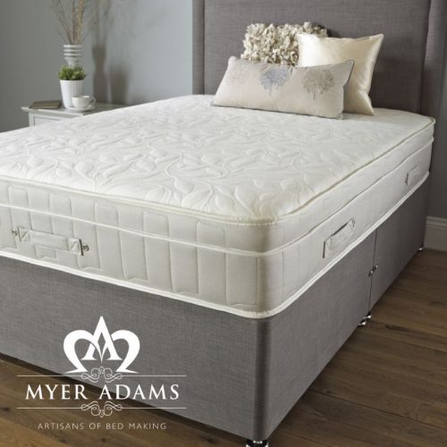 Myer Adams Royal Comfort Backcare Memory 1500 Divan Bed | Orthopaedic Beds