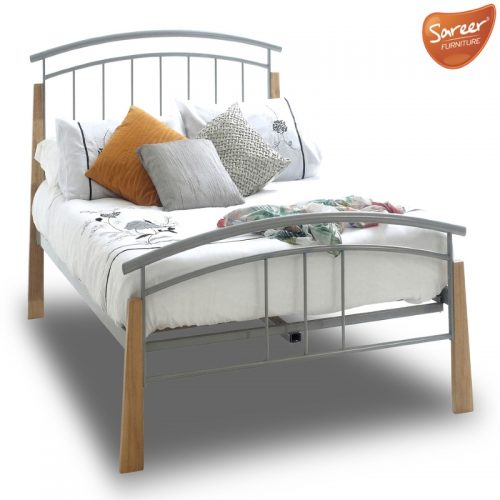 Sareer Jose Metal Bed Frame | Metal Bed Frames | Bishops Beds Peterlee