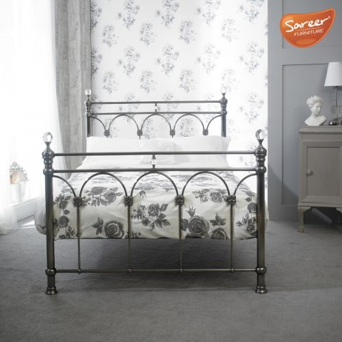 Sareer Sonita Metal Bed Frame | Bishops Beds | Bed Base