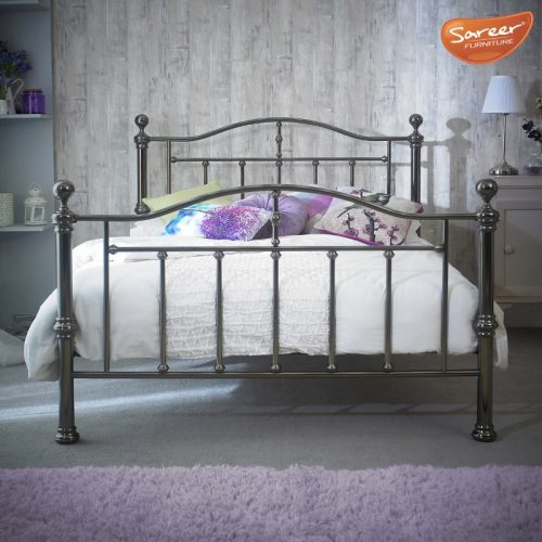 Sareer Victoria Metal Bed Frame | Bishops Beds | Bed Base