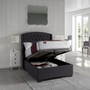 Sareer Sovereign Upholstered Ottoman Bed Frame | Storage Beds