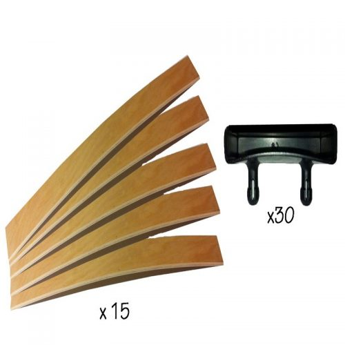 Single Bed Slats Kit