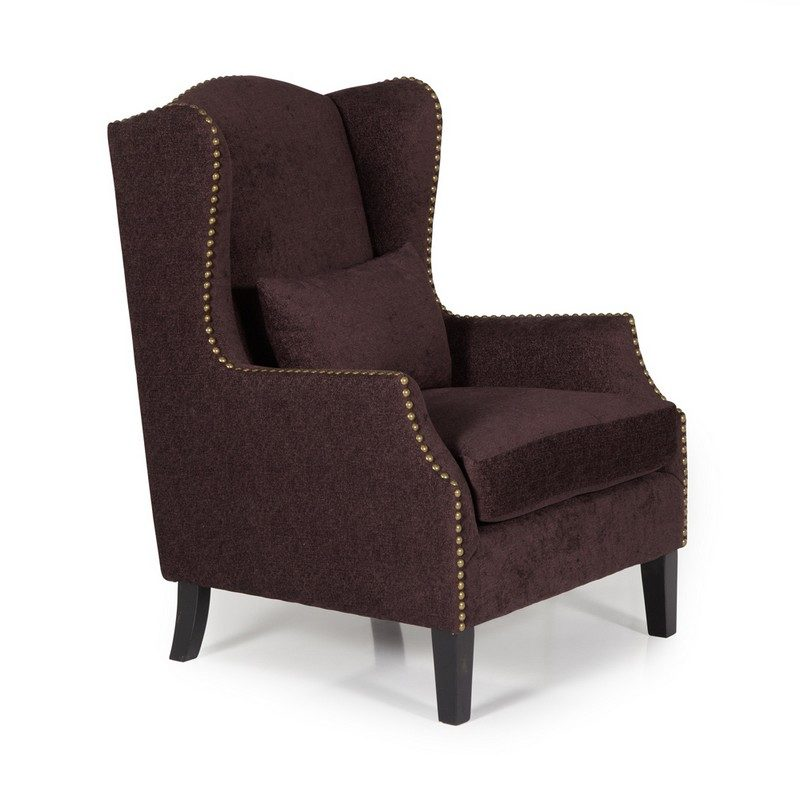 Stirling Aubergine Chair | Occasional Chairs | Armchairs