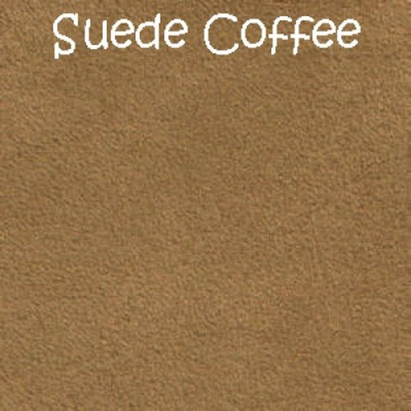 Suede Coffee Bed Base fabric
