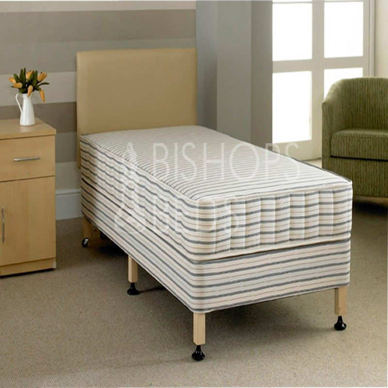 Talbot Contract Divan Bed from Bishops Beds | Hotel Mattresses | University Mattresses