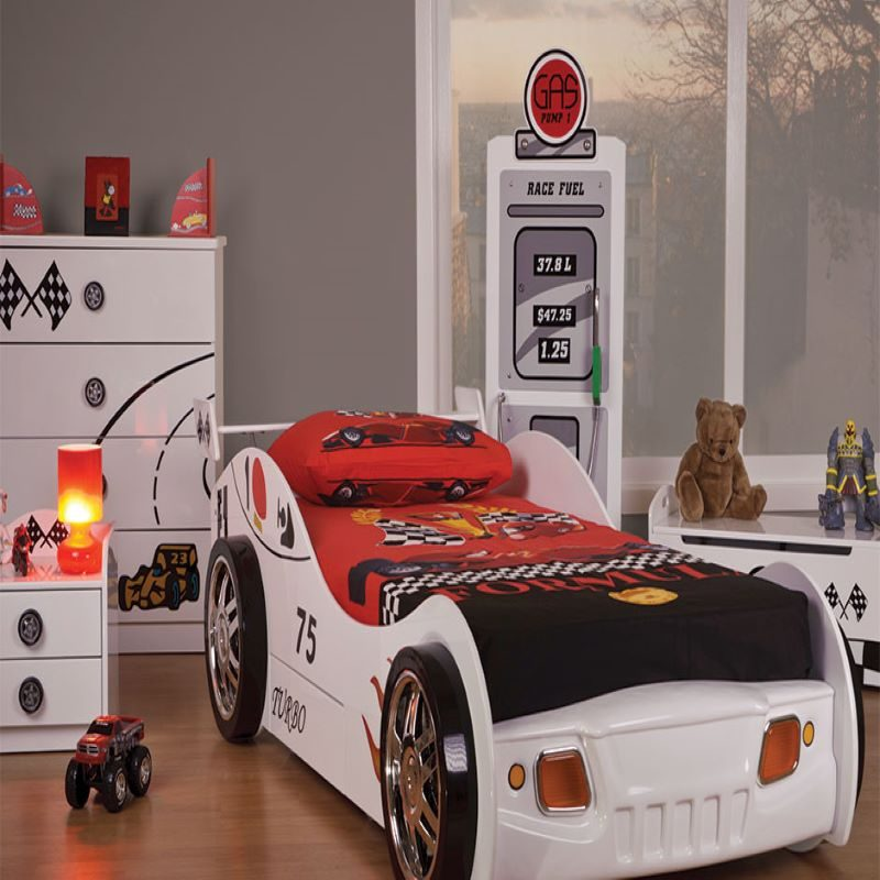 Turbo Racer Car Bed | Boys Beds