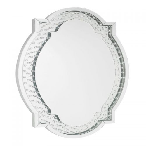 LPD Furniture Valentina Oval Wall Mirror