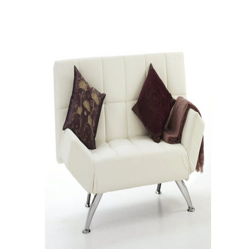Venice Sofa Bed in Orchid White from Serene