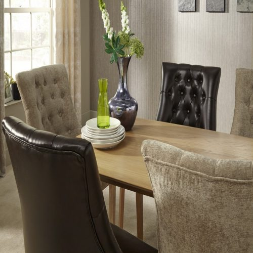 WESTMINSTER_HAMPTON_BONDED_LEATHER_AND_MINK_CHAIRS | Dining Chairs | Bishops Beds
