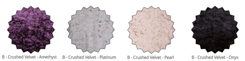 Velvet Fabric Swatches | Bishops Beds
