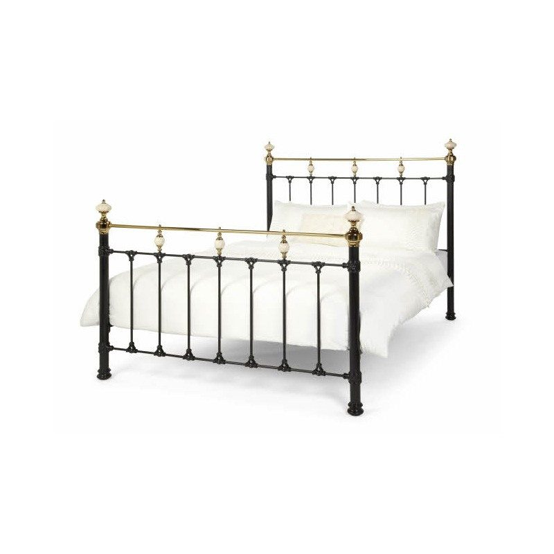 Black Abigail Metal Bed Frame | Metal beds | Bishops Beds