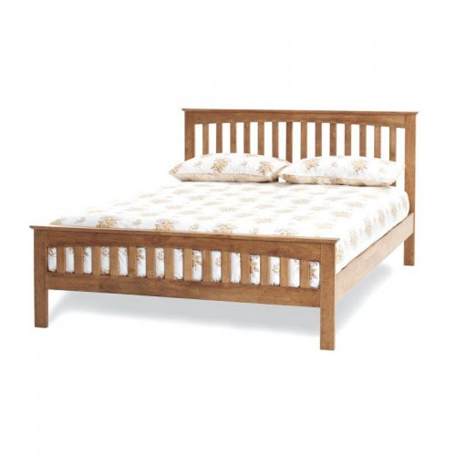 Honey Oak Amelia Bed Frame from Serene