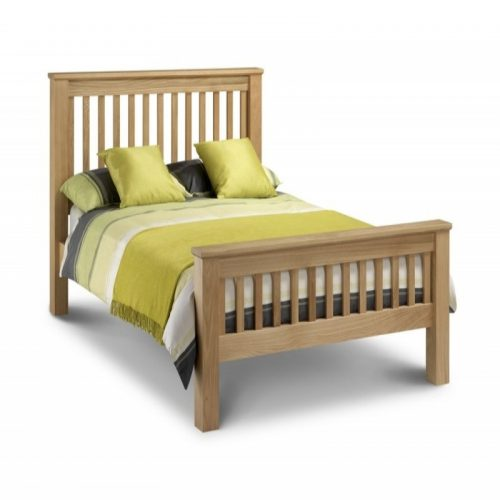 Bishops Beds Amsterdam Wooden Bed Frame From Julian Bowen