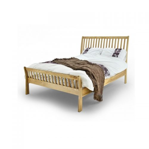 Solid Oak Ashton Bed Frame From Metal Beds Ltd