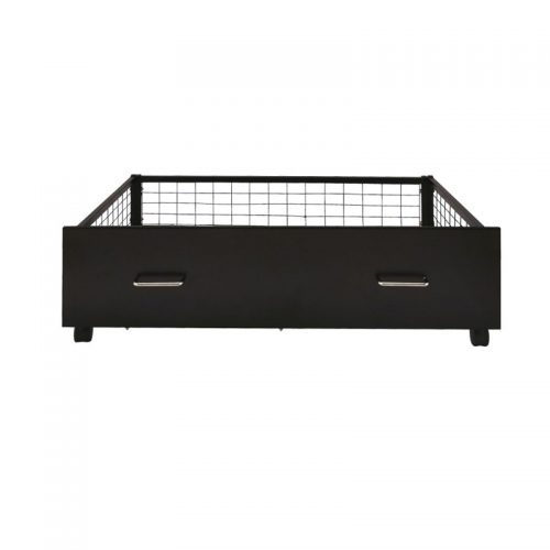 Black Underbed Storage Drawers