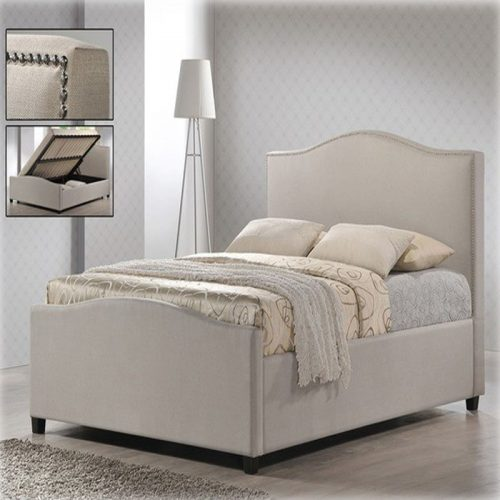 Time Living Brunswick Upholstered Bed Frame