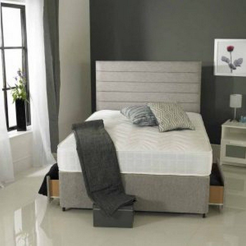 Carrissa Orthopaedic Divan | Carissa Double Divan Bed | Storage Beds