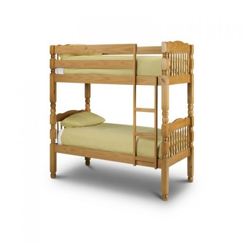 Chunky Wooden Bunk Bed From Julian Bowen   Kids Beds   Childrens Beds