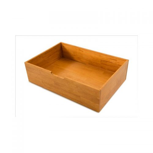 Honey Oak Underbed Storage Drawer