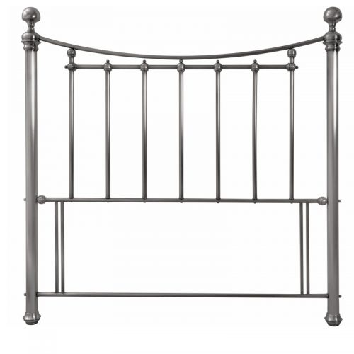 Isabelle Gold Metal Headboard | Bishops Beds