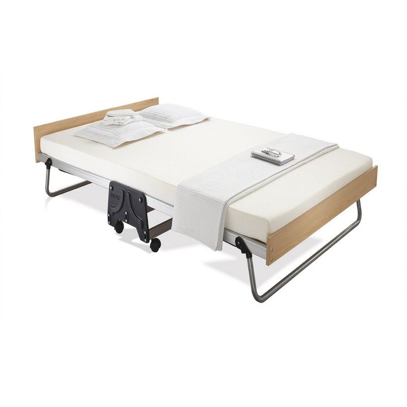Jaybe Folding Guest Bed Double with Memory Mattress