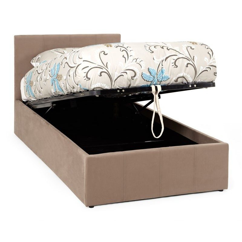 Serene Furnishings Evelyn Upholstered Ottoman Bed Frame