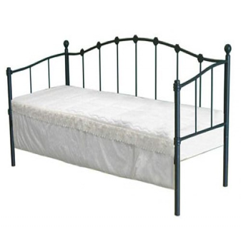 Paris Black Metal Guest Bed | Pullout Beds