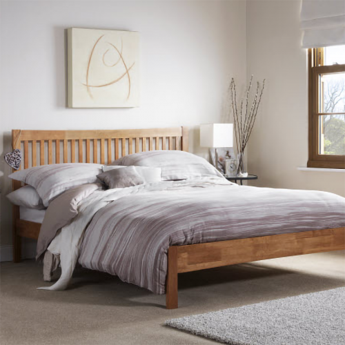 Mya Pine Wooden Bed Frame
