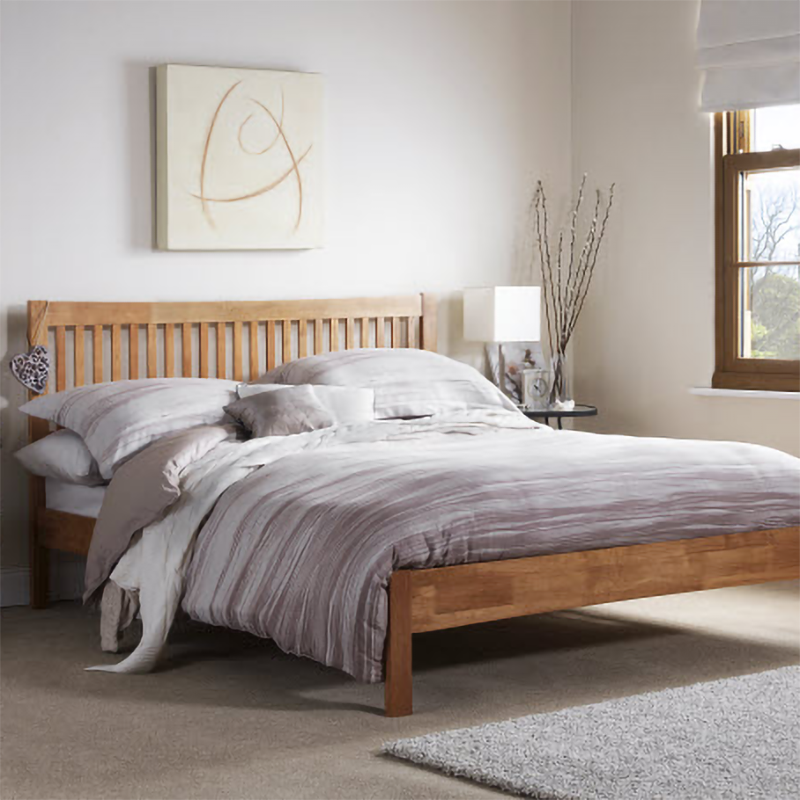 Mya Wooden Bed Frame by Serene