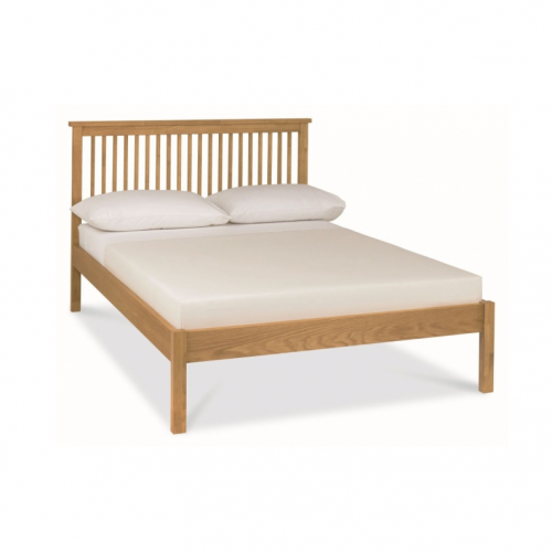 Bentley Designs Atlanta Oak Wooden Bed Frame Low Foot End