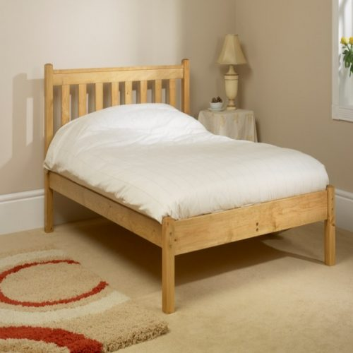 Shaker Wooden Bed Frame from Friendship Mill