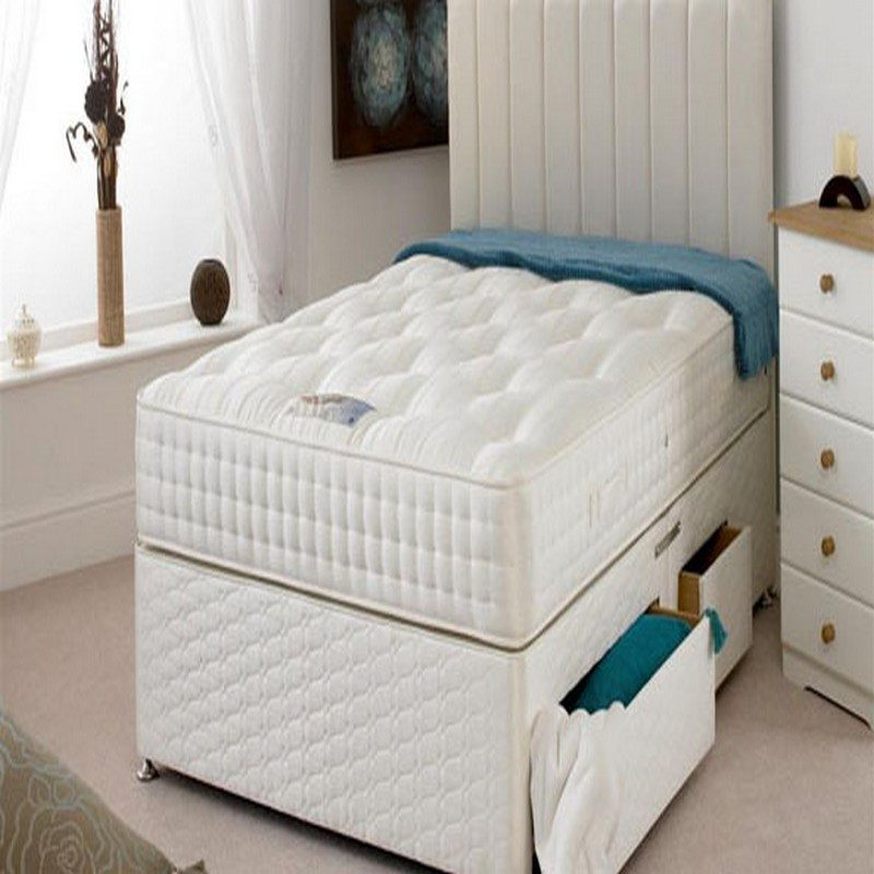Sheraton Pocket 2000 Ortho Divan Highgrove Bed | Orthopaedic Beds with Free Delivery