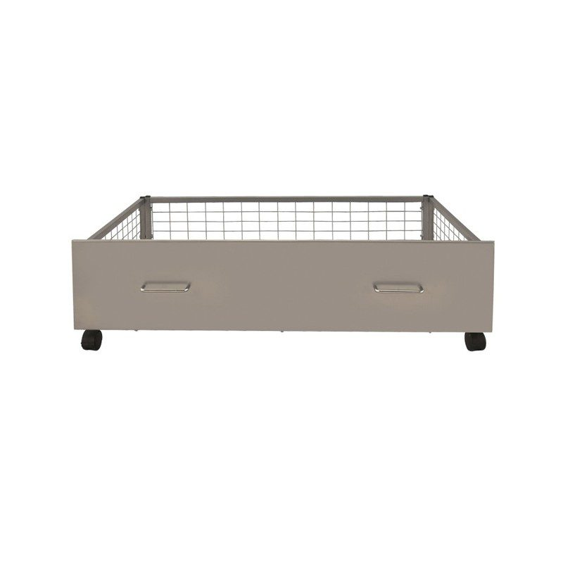 Urban Silver Under Bed Storage Drawers from Serene Furnishings | Bishops Beds