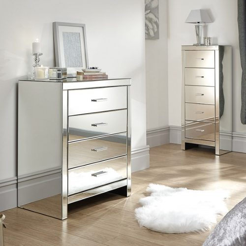 Venetian 4 Drawer Chest | Bedroom Furniture | Bishops Beds