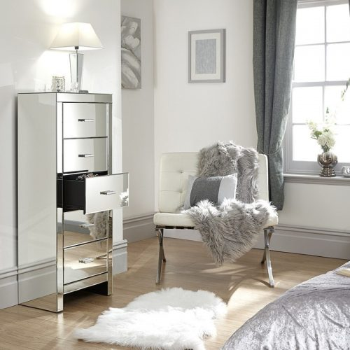 Venetian 5 Drawer Tallboy Chest | Bedroom Furniture | Bishops Beds