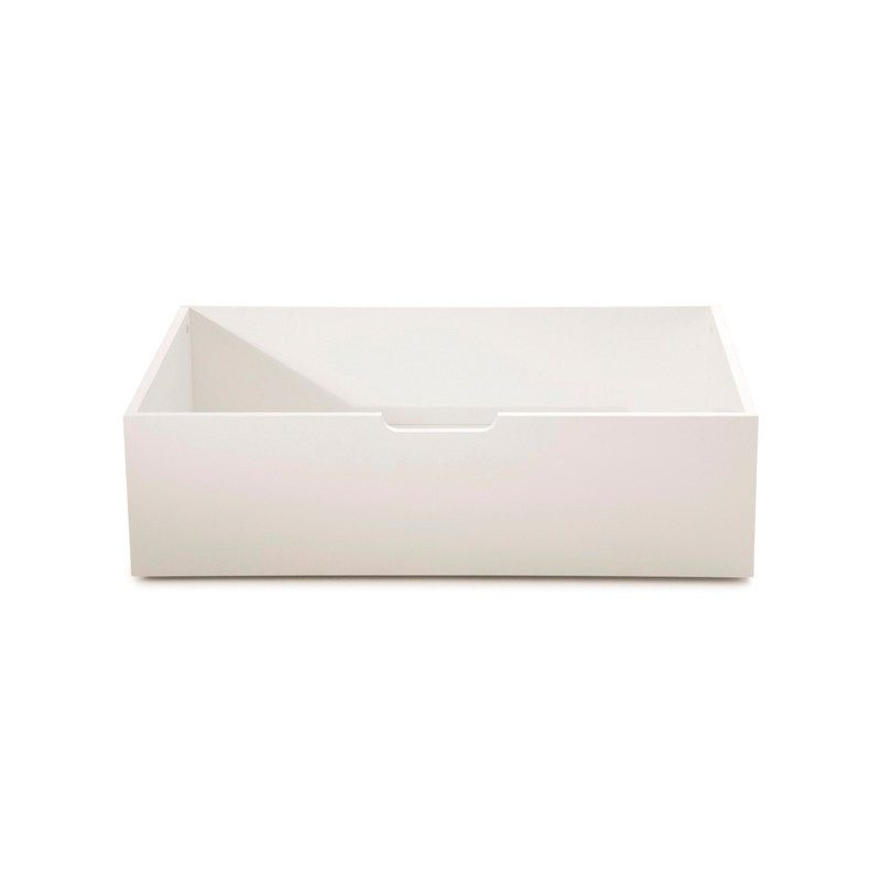 Opal White Storage Drawers from Serene