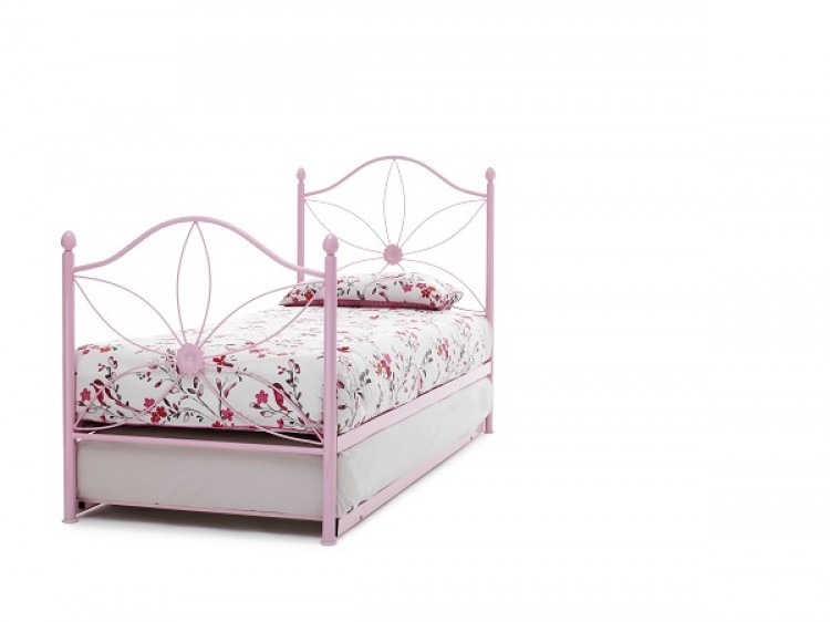 Serene Daisy Metal Guest Bed | Kids Beds with Free Delivery