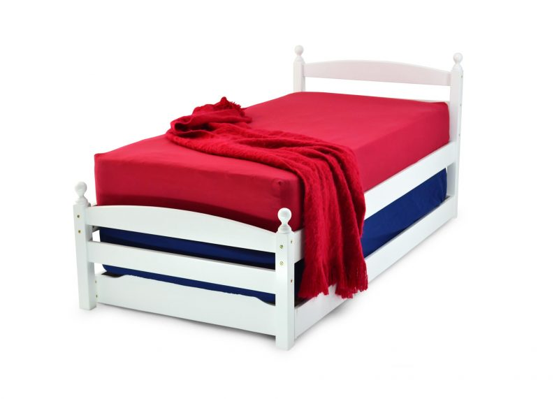 Palermo White Wooden Guest Bed   Childrens Beds