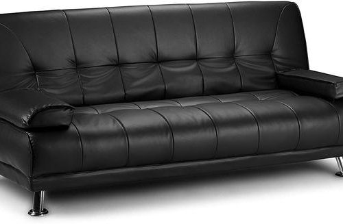 VENICE FAUX LEATHER SOFA BED BY SERENE FURNISHINGS