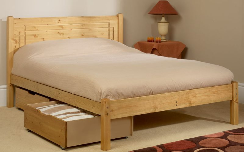 Vegas Wooden Bed Frame by Friendship Mill