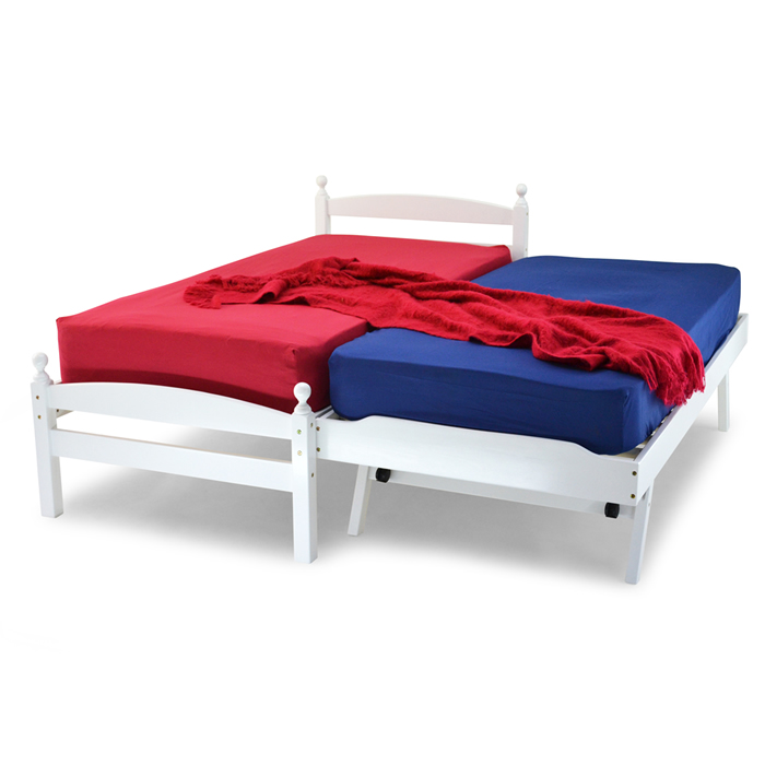 Wholesale Beds Palermo Wooden Guest Bed | Kids Beds