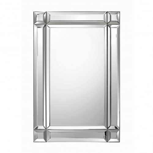 LPD Furniture Valentina Rectangular Wall Mirror | Bishops Beds